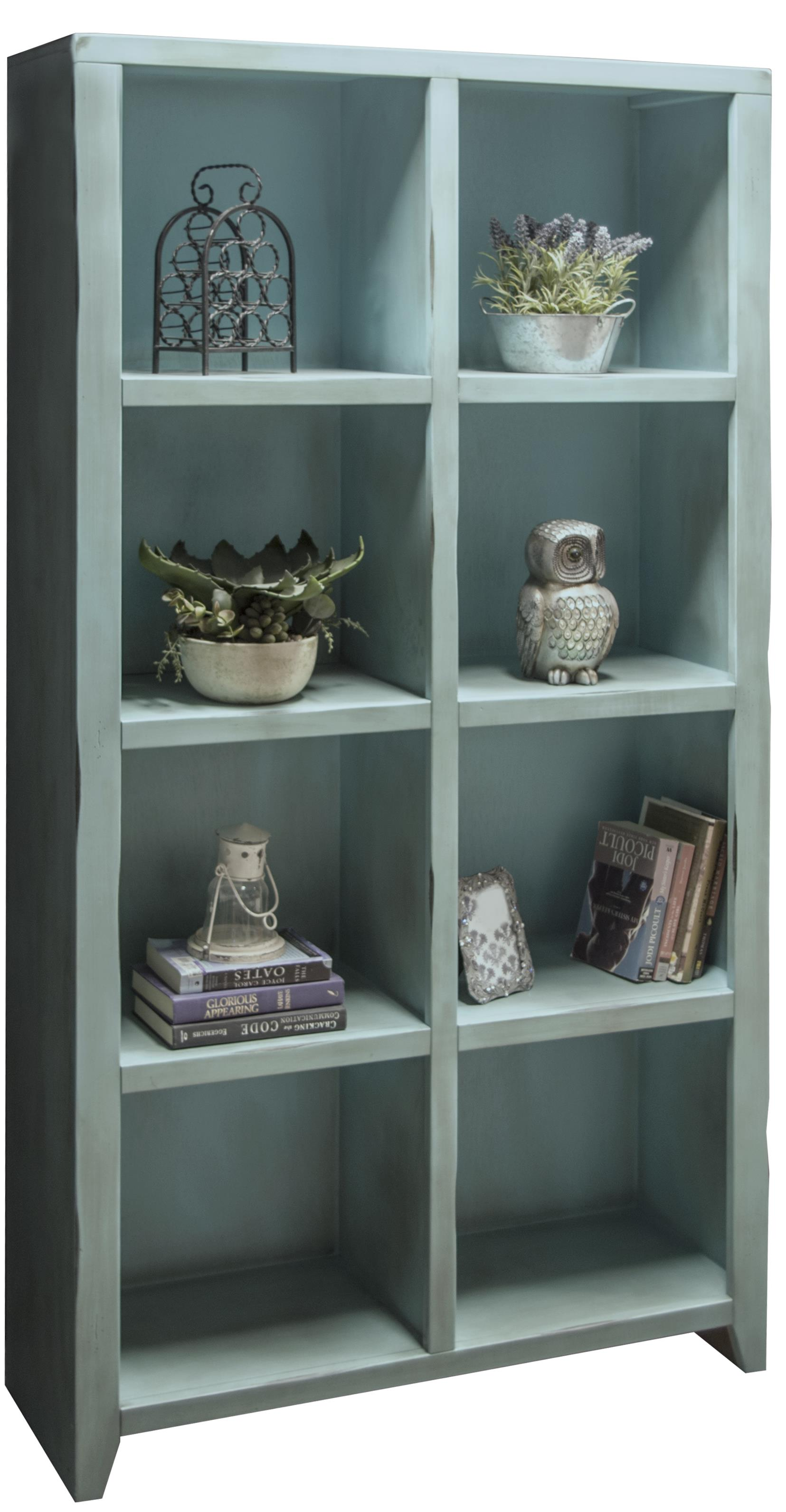 Legends Furniture Calistoga Collection Calistoga 8-Cubicle Bookcase - Item Number: CA6202-RBL