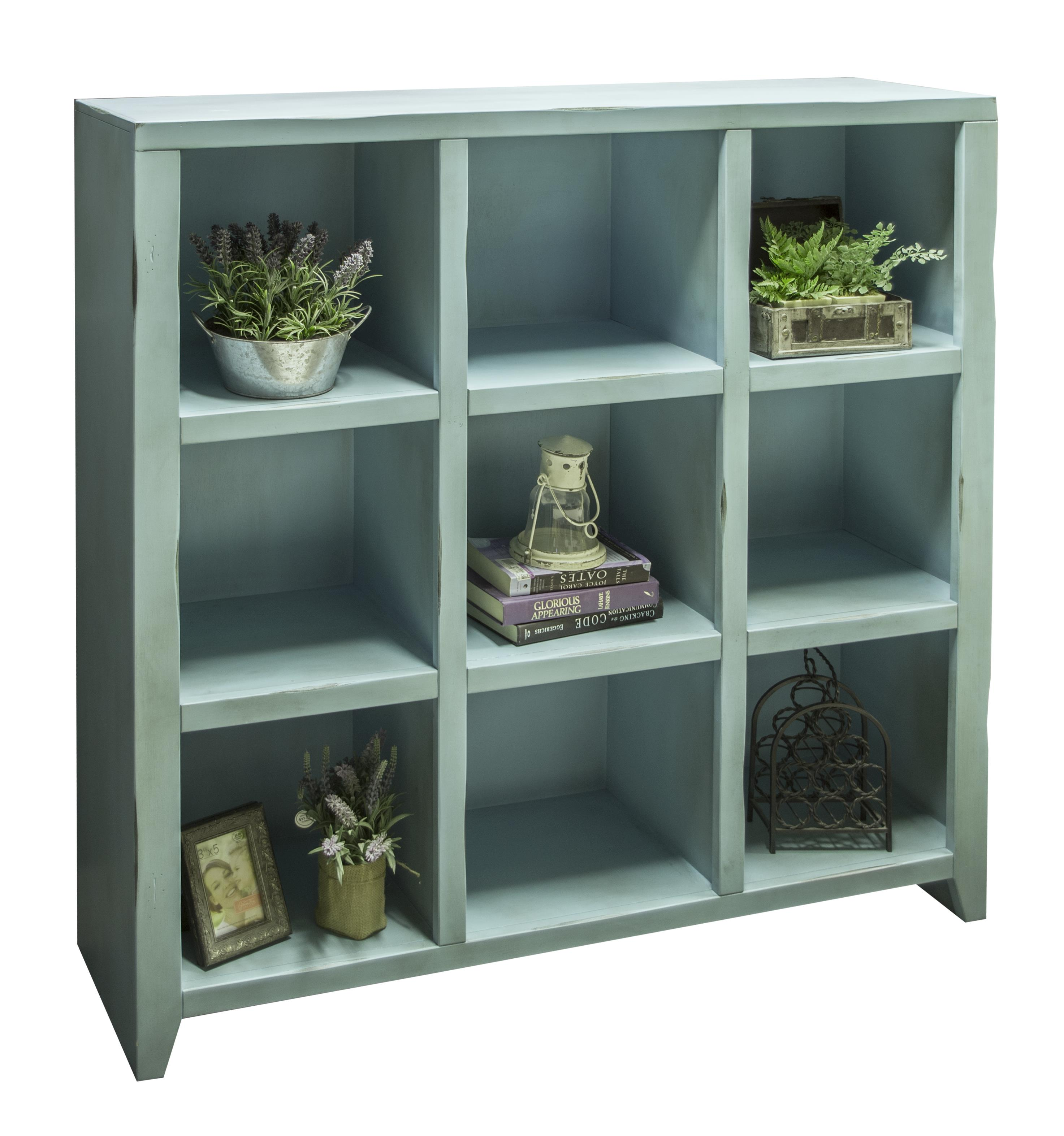 Legends Furniture Calistoga Collection Calistoga 9-Cubicle Bookcase - Item Number: CA6203-RBL