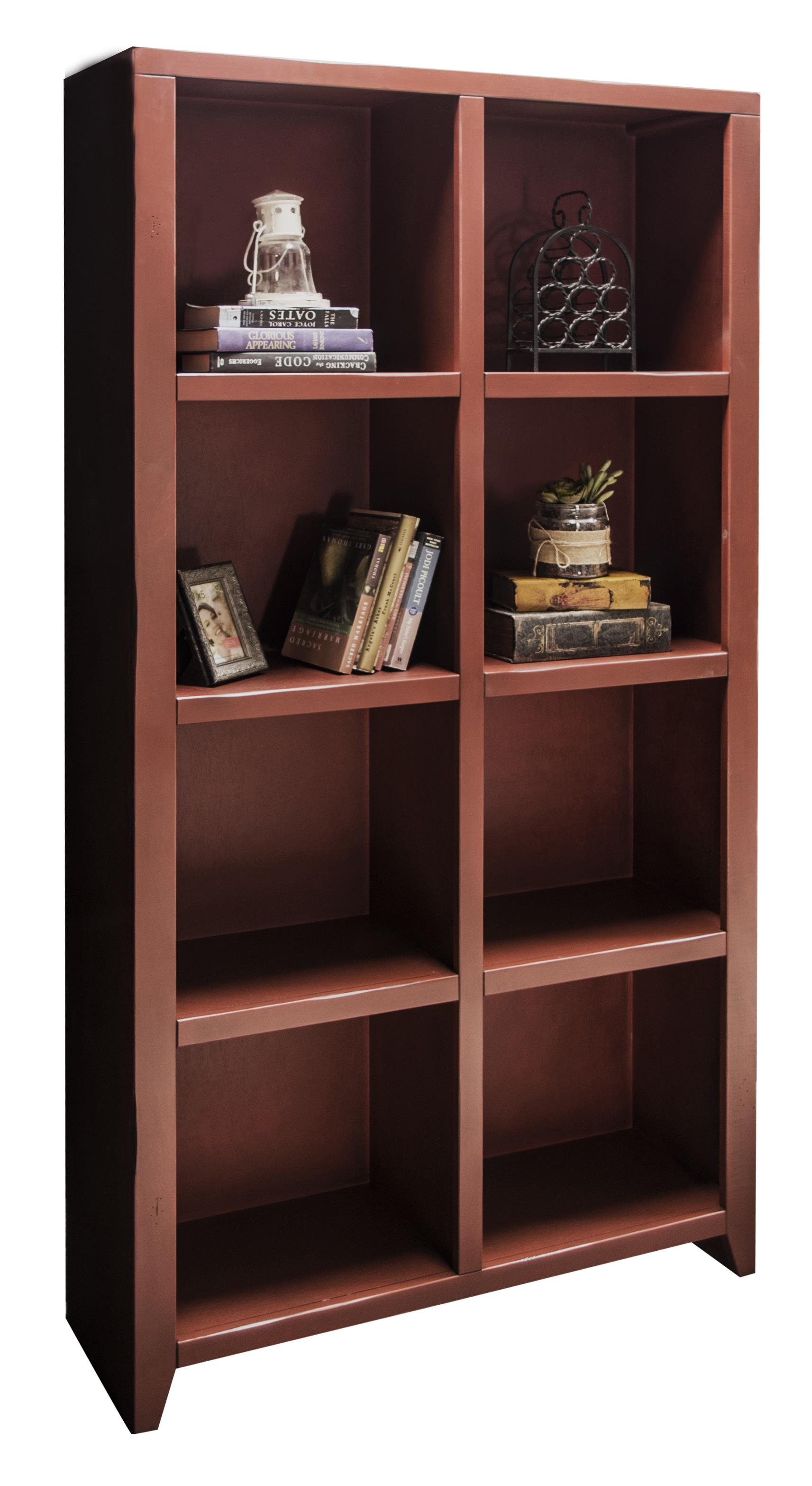 Legends Furniture Calistoga Collection Calistoga 8-Cubicle Bookcase - Item Number: CA6302-RRD