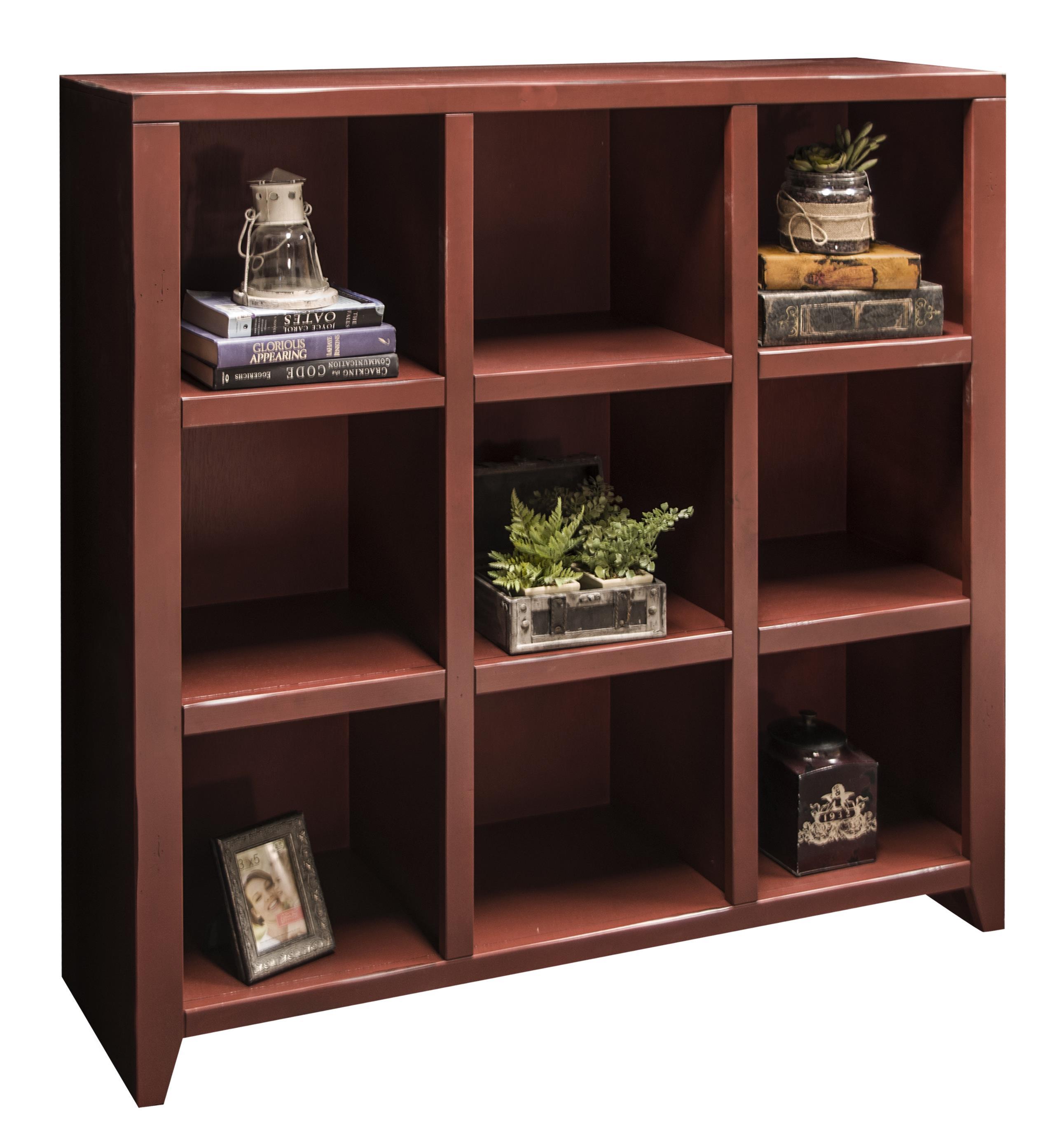 Legends Furniture Calistoga Collection Calistoga 9-Cubicle Bookcase - Item Number: CA6303-RRD