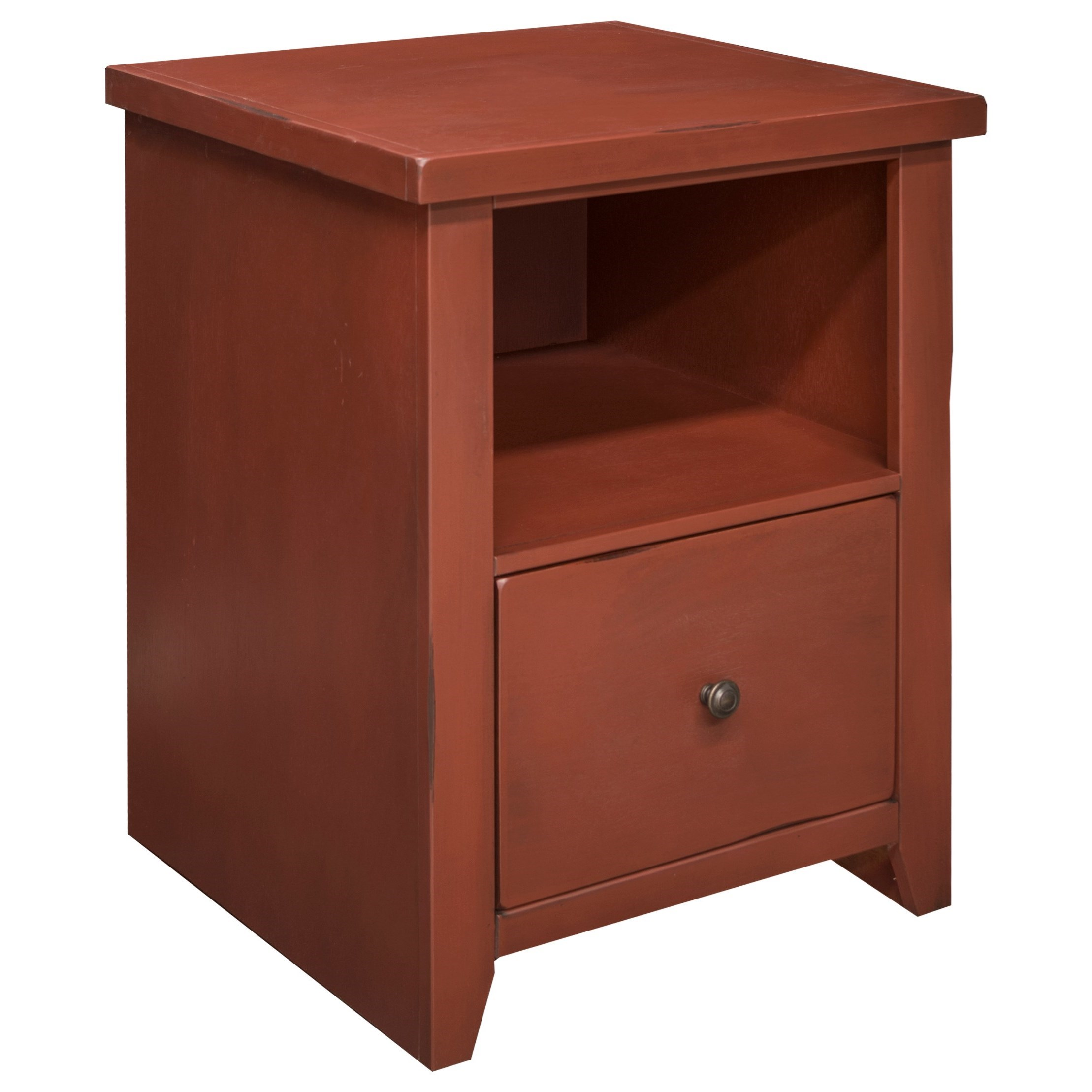 Legends Furniture Calistoga Collection Calistoga Blue File Cabinet - Item Number: CA6305-RRD