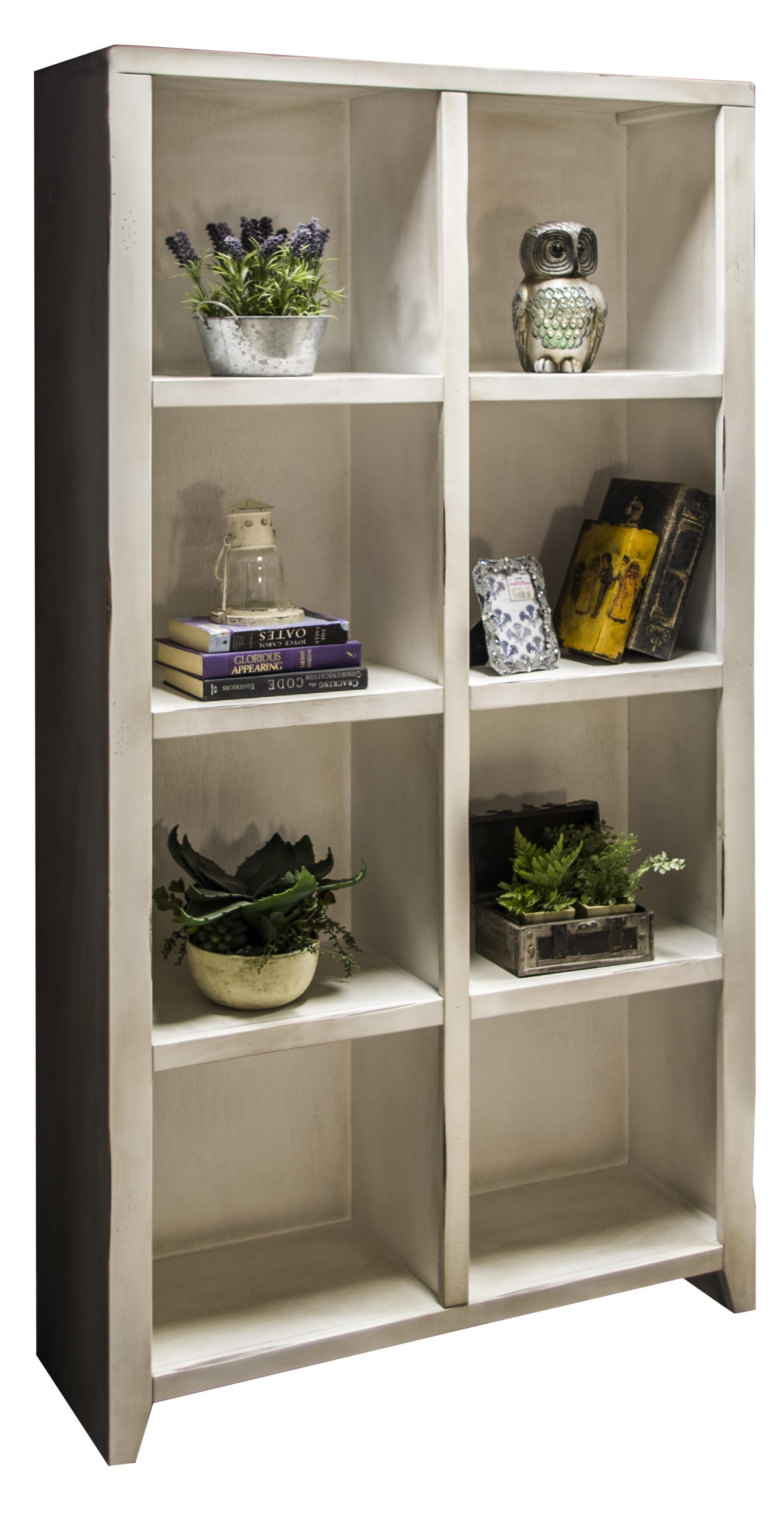 Legends Furniture Calistoga Collection Calistoga 8-Cubicle Bookcase - Item Number: CA6402-RWT