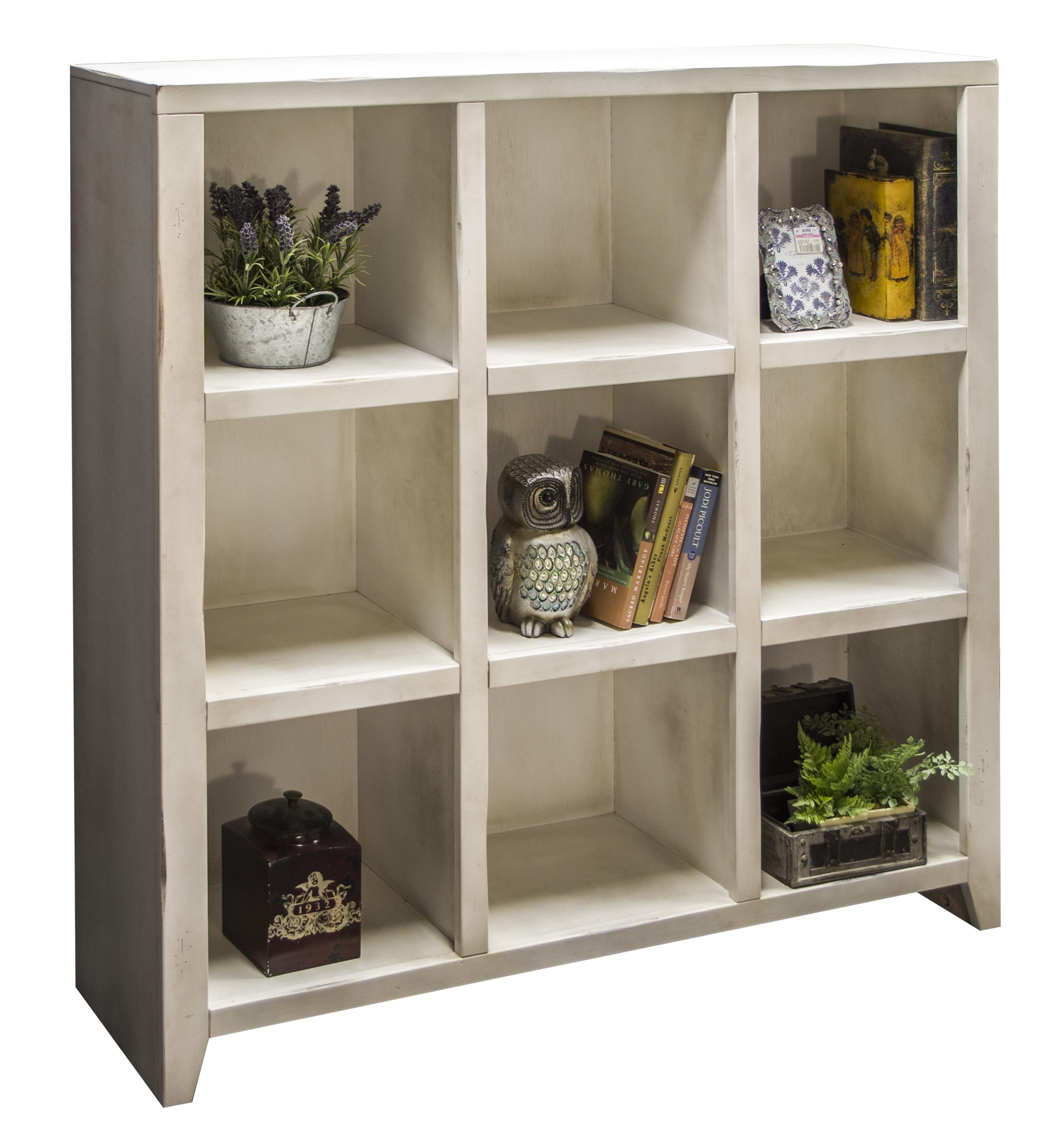 Legends Furniture Calistoga Collection Calistoga 9-Cubicle Bookcase - Item Number: CA6403-RWT
