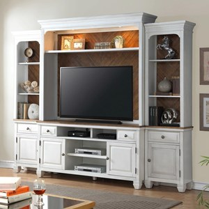 Legends Furniture Camden Collection Entertainment Wall Console