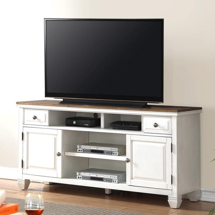 "Legends Furniture Camden Collection Camden 68"" TV Console - Item Number: ZCMD-1770"