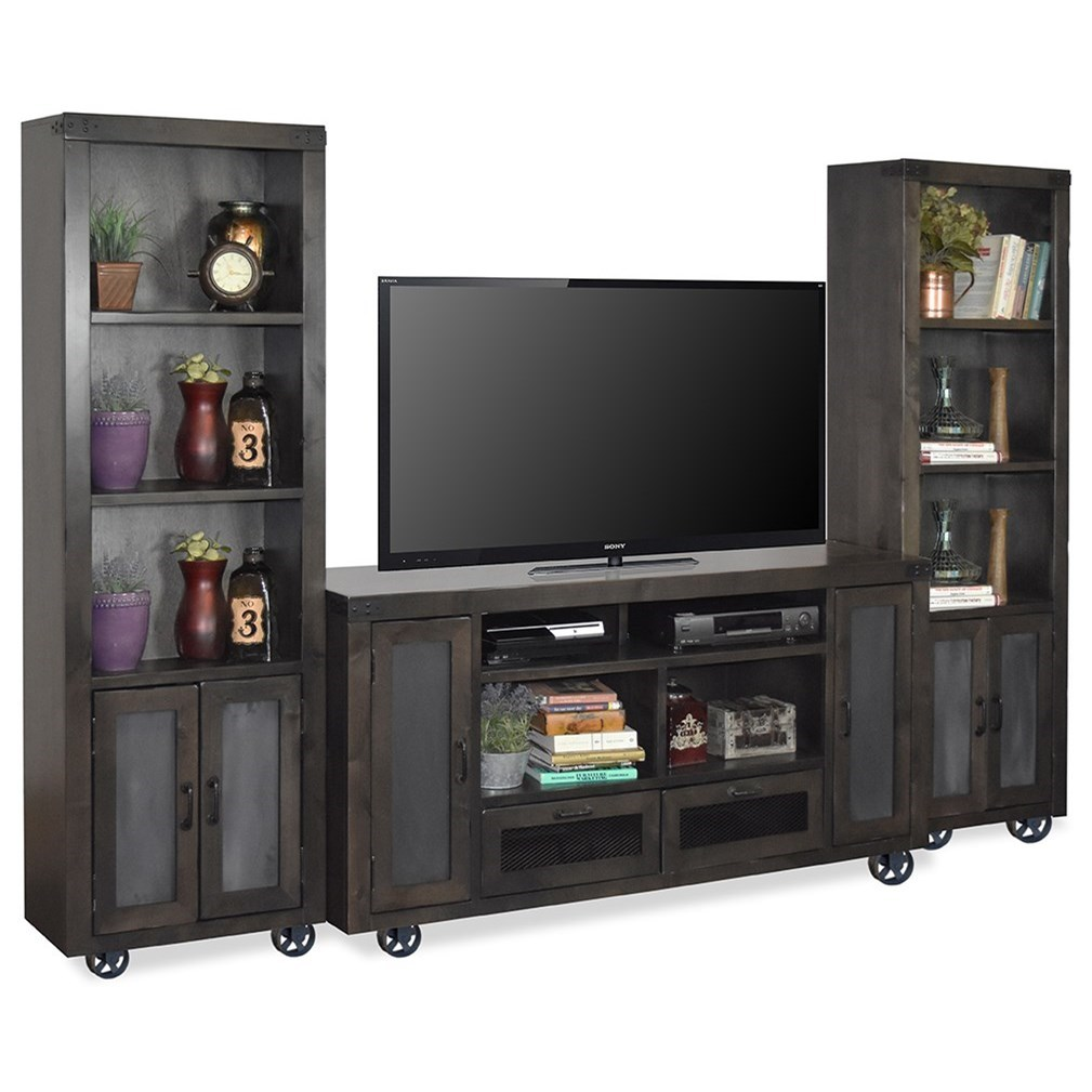 Entertainment Wall Console