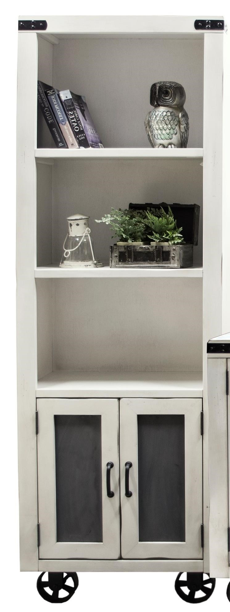Legends Furniture Passport Pier with Two Shelves - Item Number: PS3401-RWT