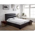 Legends Furniture Charcoal Beds King Upholstered Bed - Item Number: ZCHR-7004+7005