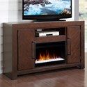 Vendor 1356 City Lights Fireplace Console - Item Number: ZCTL-1900