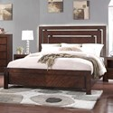 Legends Furniture City Lights King Panel Bed - Item Number: ZCTL-7004+7005+7003
