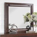Legends Furniture City Lights Mirror with Wood Frame - Item Number: ZCTL-7014