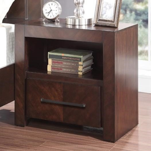 Legends Furniture City Lights Night Stand with USB Ports - Item Number: ZCTL-7015