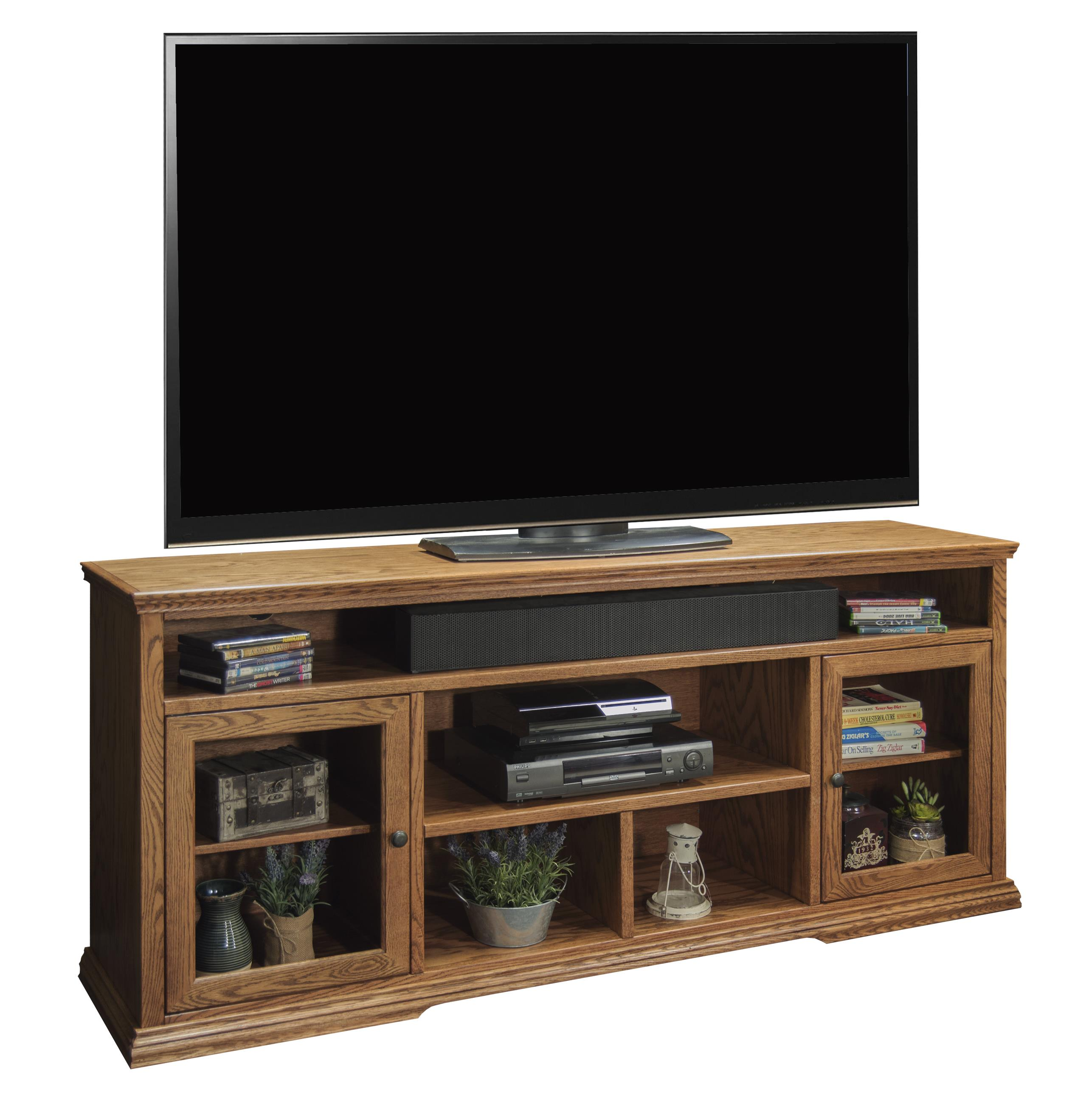 Legends Furniture Colonial Place 74-Inch Tall TV Cart - Item Number: CP1331.GDO