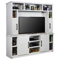 Legends Furniture Cottage Entertainment Wall Unit - Item Number: CT1402-JWT+CT1902-JWT