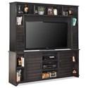 Vendor 1356 Cottage Entertainment Wall Unit - Item Number: CT1412-JVA+CT1912-JVA