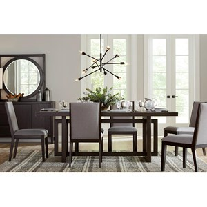 Legends Furniture Crosby Street 7 Piece Dining Set