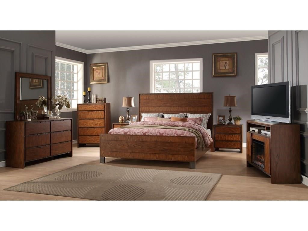 Legends Furniture Crossgrain Collection King Group - Item Number: KING SET PROMO