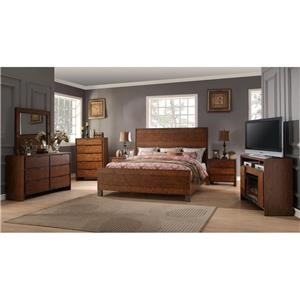 Legends Furniture Crossgrain Collection King Group