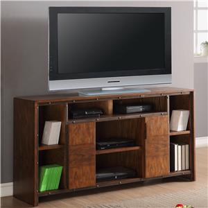 "Vendor 1356 Crossgrain Collection 64"" TV Console"