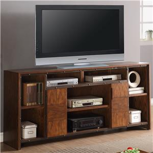 "Vendor 1356 Crossgrain Collection 74"" TV Console"
