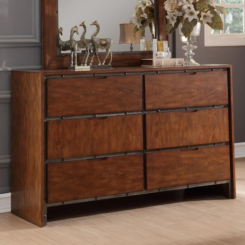 Legends Furniture Crossgrain Collection Crossgrain Dresser - Item Number: ZCGN-7013