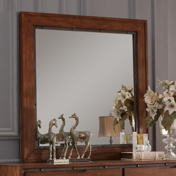 Legends Furniture Crossgrain Collection Crossgrain Mirror - Item Number: ZCGN-7014