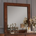 Legends Furniture Crossgrain Collection Crossgrain Mirror - Item Number: ZCGN-7014