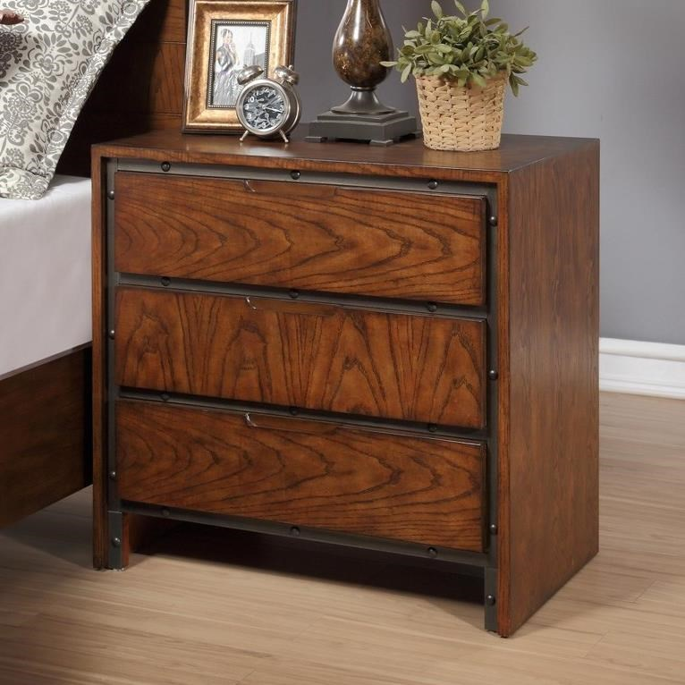 Legends Furniture Crossgrain Collection Crossgrain Nightstand - Item Number: ZCGN-7015