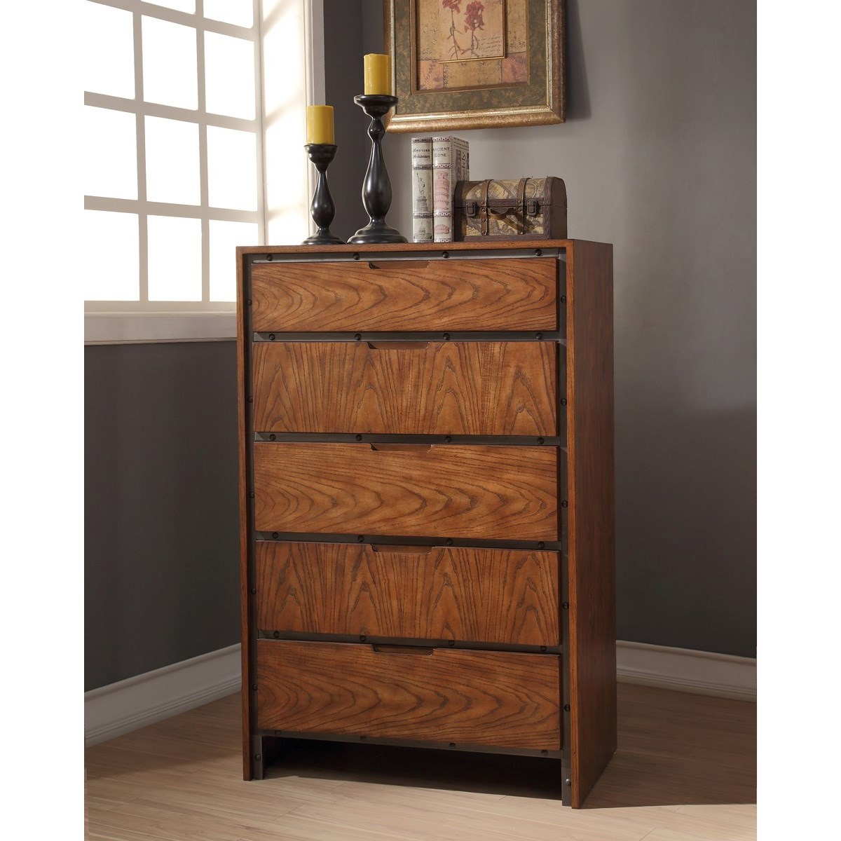 Legends Furniture Crossgrain Collection Crossgrain Chest - Item Number: ZCGN-7016