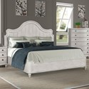 Legends Furniture Delilah Queen Bed - Item Number: ZDEL-7001+7003+7002
