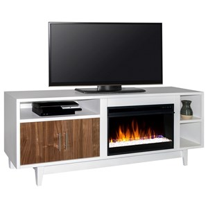 "Legends Furniture Draper Draper 68"" Fireplace Console"