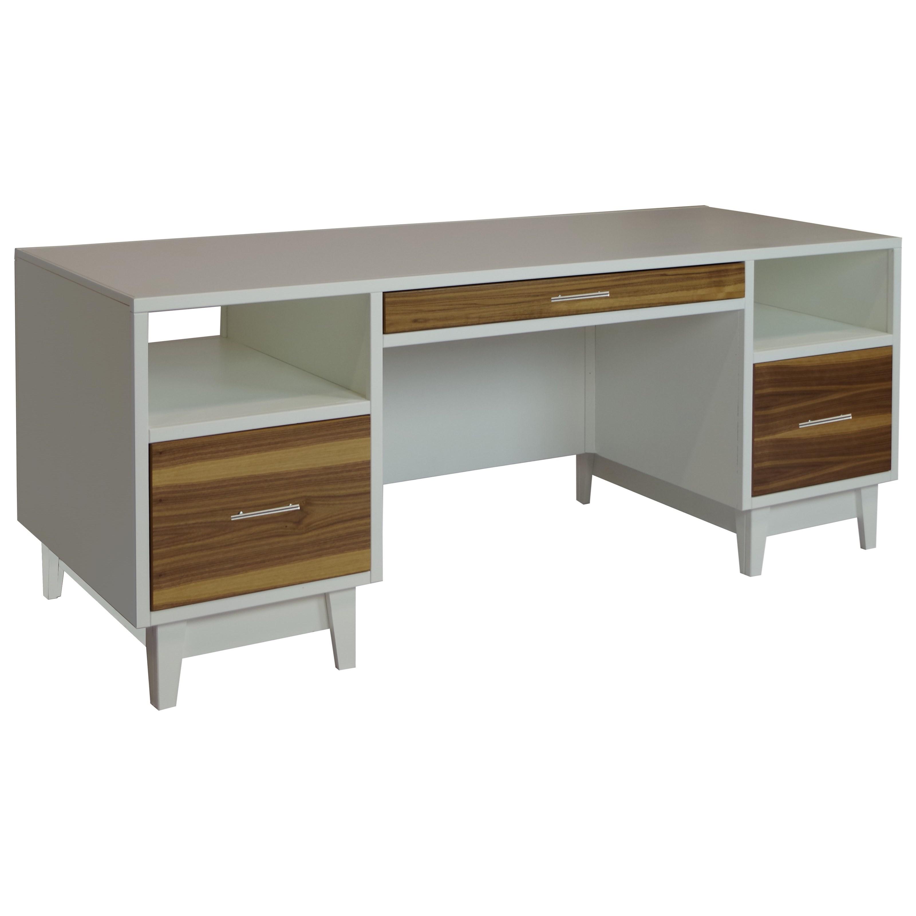 Legends Furniture Draper Draper and Sterling Executive Desk - Dunk u0026 Bright Furniture - Double ...