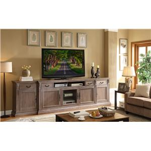 Legends Furniture Estancia Collection Entertainment Half Wall