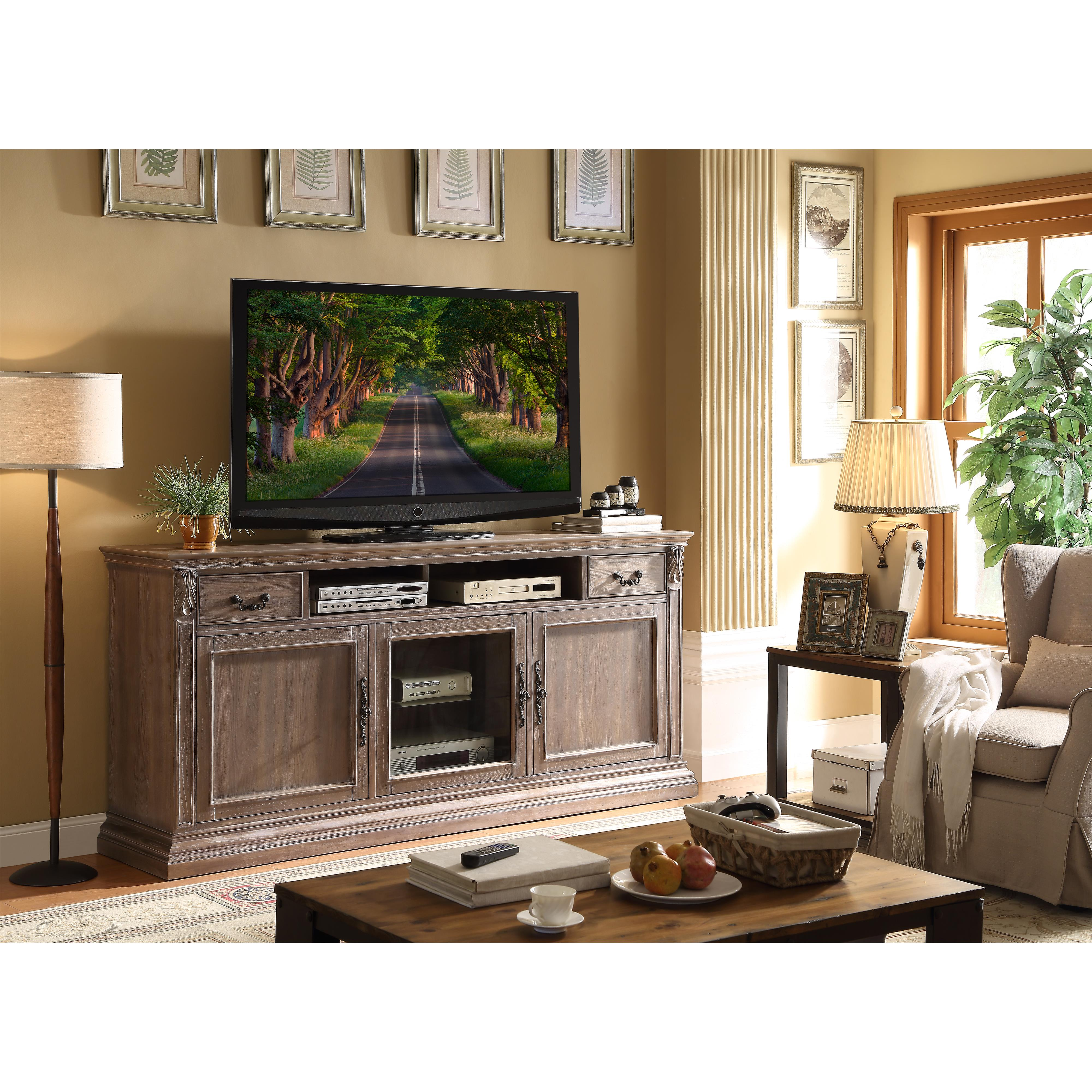 "Legends Furniture Estancia Collection 84"" Premium TV Console - Item Number: ZEST-1786"