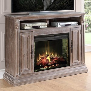 Vendor 1356 Estancia Collection Estancia Fireplace Media Console