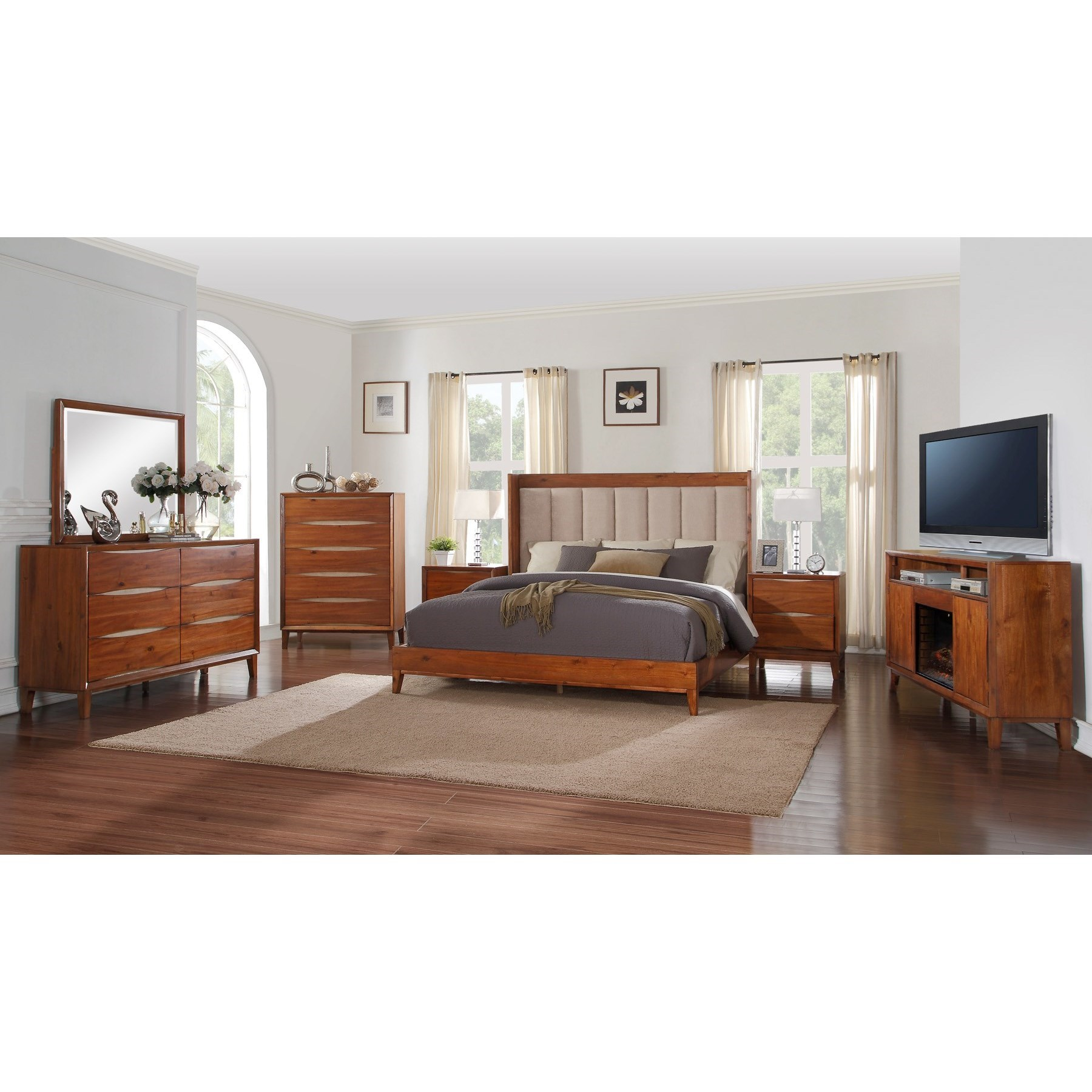 Legends Furniture Evo Queen Bedroom Group - Item Number: ZEVO Q Bedroom Group