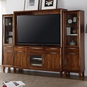Legends Furniture Evo Entertainment Wall Console