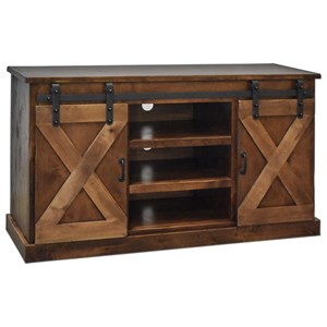 "Legends Furniture Farmhouse Collection Farmhouse 56"" TV Console"