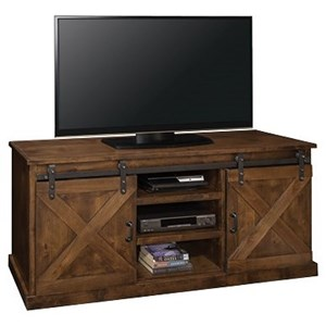 "Legends Furniture Farmhouse Collection-1090998081 Farmhouse 66"" TV Console"