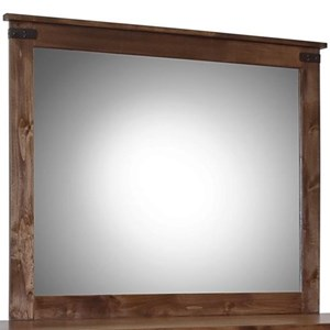 Legends Furniture Farmhouse Collection Mirror