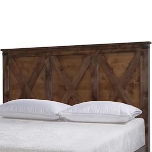 Legends Furniture Farmhouse Collection Queen Headboard