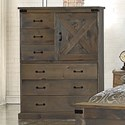 Legends Furniture Farmhouse Collection Door Chest - Item Number: FH7205-BNW