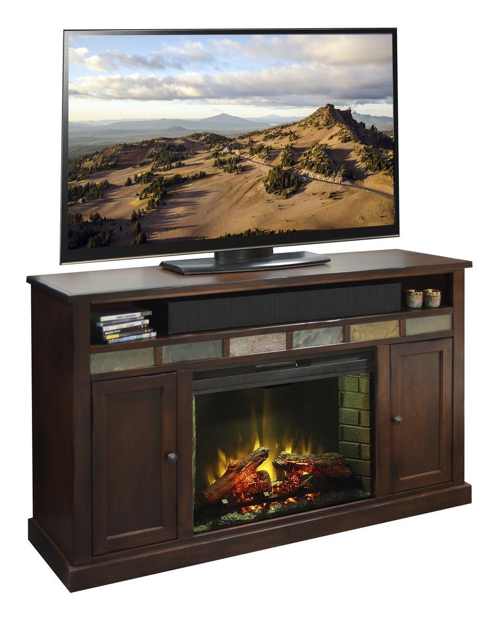 "Legends Furniture Fire Creek 62"" Fireplace Media Center - Item Number: FC5101.DNC"
