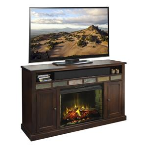"Legends Furniture Fire Creek 62"" Fireplace Media Center"
