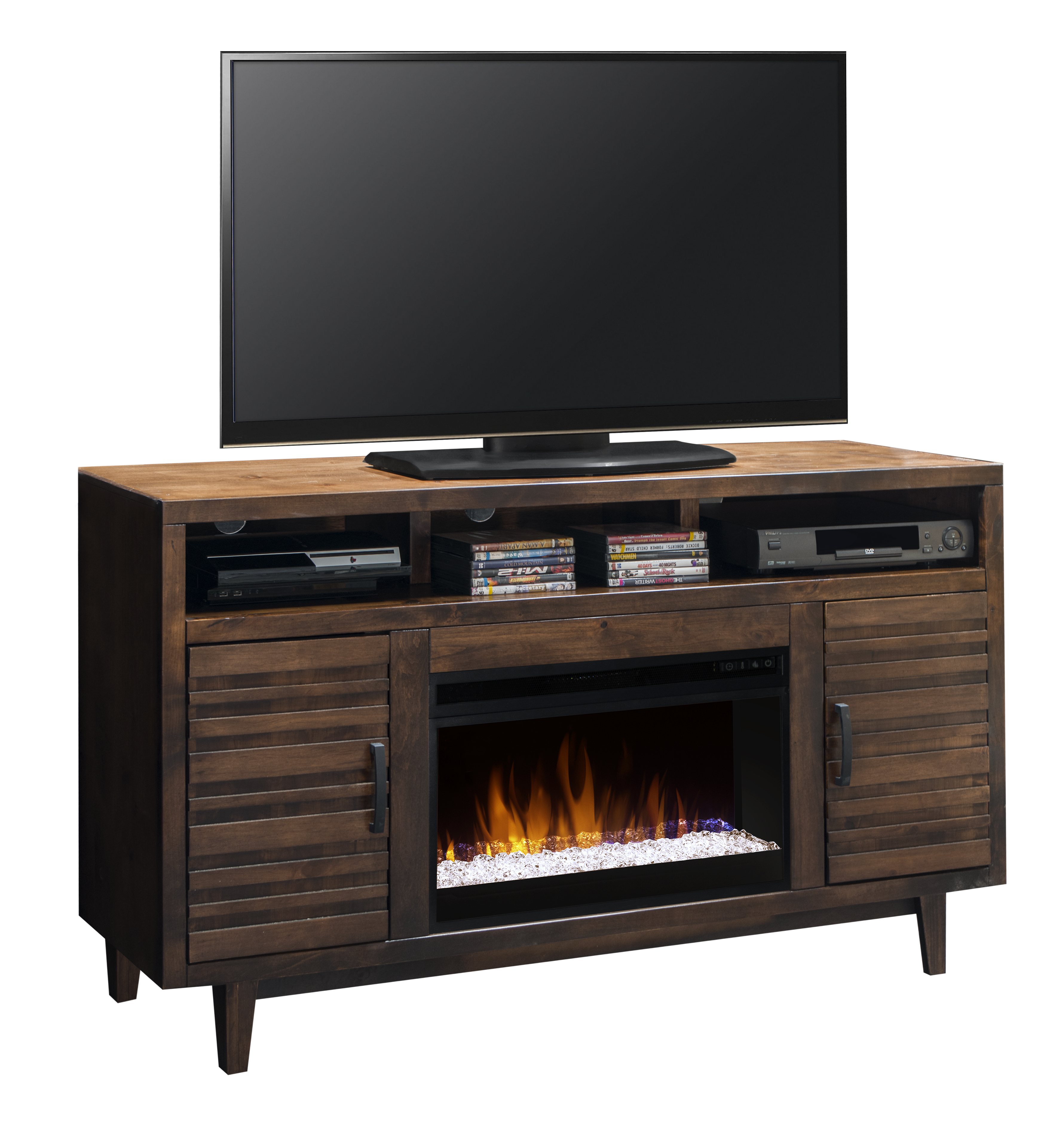 "Legends Furniture Glendale Collection Glendale 62"" Fireplace Console - Item Number: GN5201-KIT"