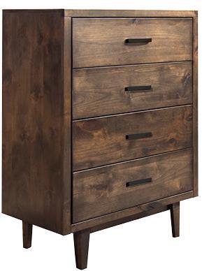 Legends Furniture Glendale Collection Glendale 4-Drawer Chest - Item Number: GN7105-WKY