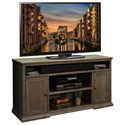 "Legends Furniture Greyson 62"" TV Cart - Item Number: GY1328"