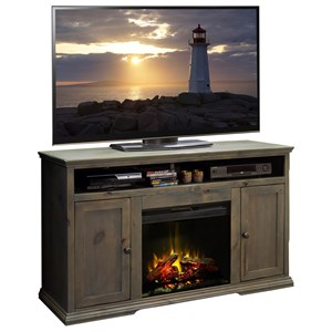 Legends Furniture Greyson Fireplace Console