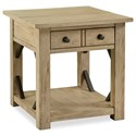 Legends Furniture Hideaway Transitional End Table