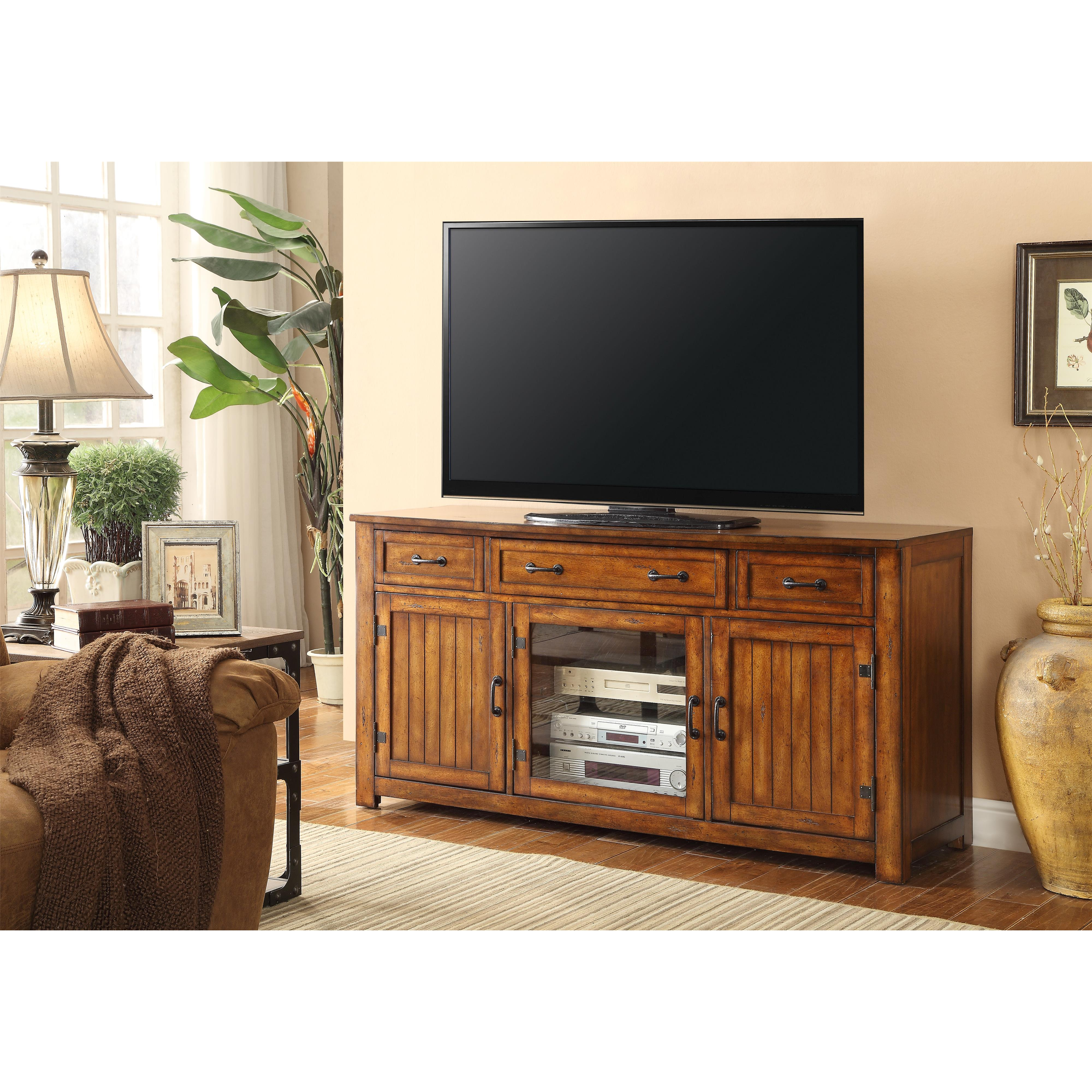 "Legends Furniture Industrial Collection Industrial 64"" TV Console - Item Number: ZIND-1000"